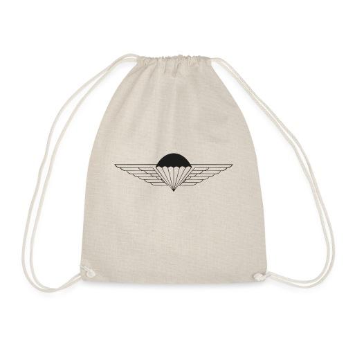 Black - Drawstring Bag