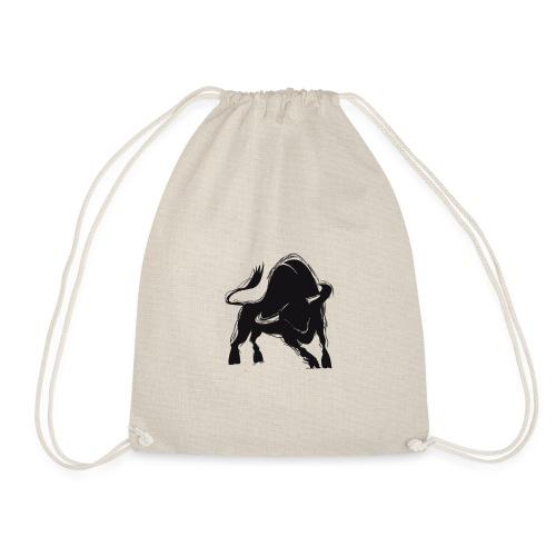 Der schwarze Stier - Turnbeutel