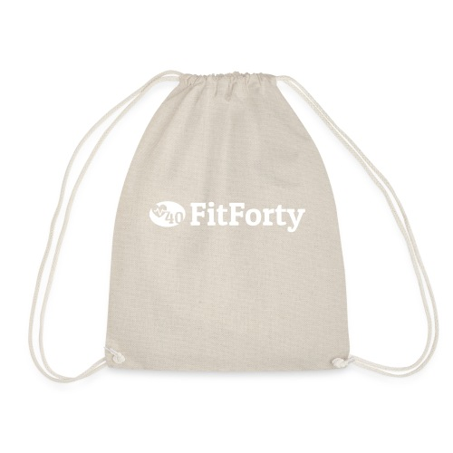 White Line Logo - Drawstring Bag
