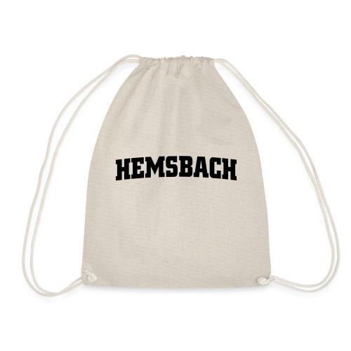 Hemsbach ohne Wappen - Turnbeutel