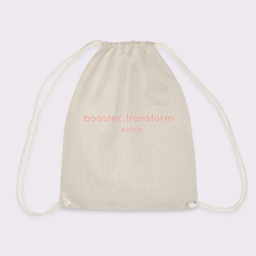 booster.transform zürich - Drawstring Bag