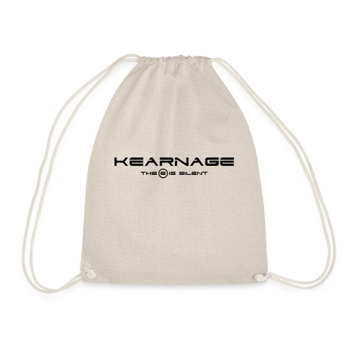 The E Is Silent - Drawstring Bag