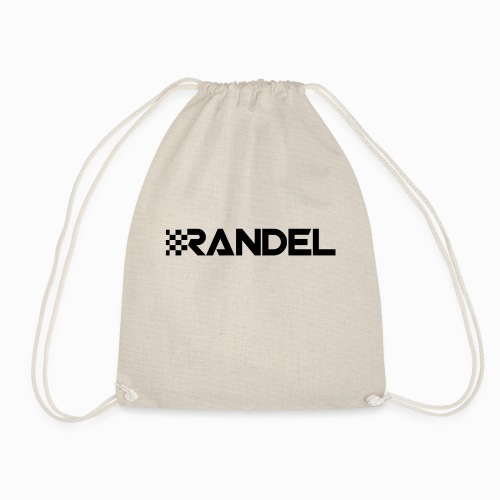Randel-BlackOn - Drawstring Bag