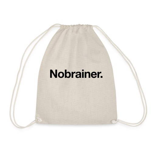Nobrainer - Drawstring Bag