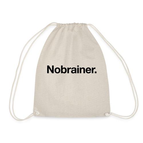Nobrainer - Drawstring Bag