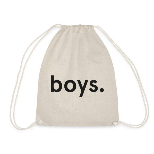 boys dot black - Gymnastikpåse
