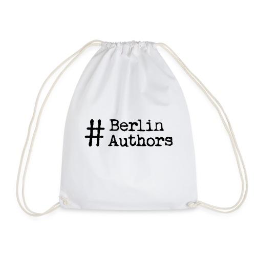 BerlinAuthors Logo Black - Turnbeutel