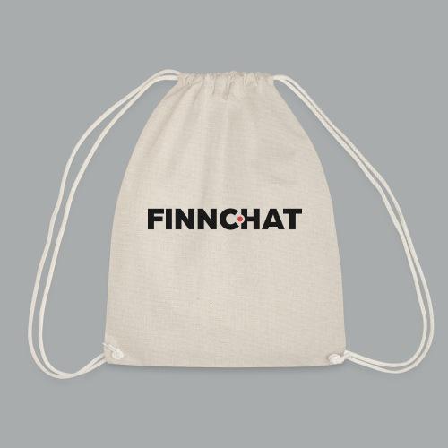 Finnchat-logon fontti harmaa oranssi - Jumppakassi