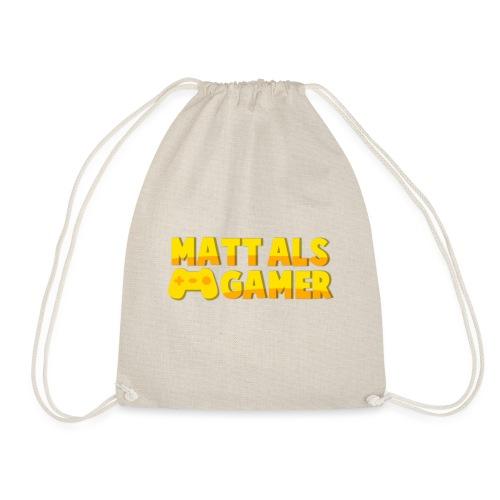 Matt Als Gamer Logo - Gymtas