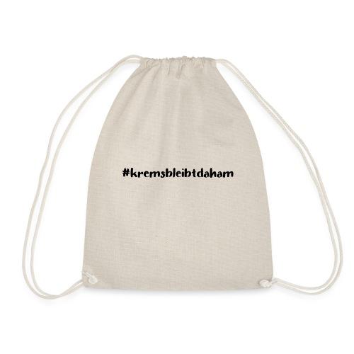 hashtag kremsbleibtdaham - Turnbeutel