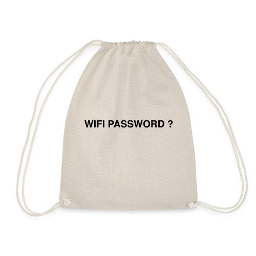wifi password ? - Drawstring Bag