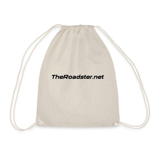 TheRoadster net Logo Text Only All Cols - Drawstring Bag