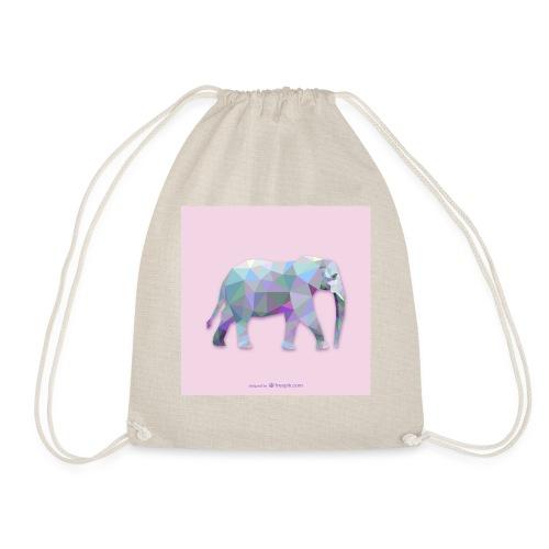 Elefante Intero triangoli - Sacca sportiva