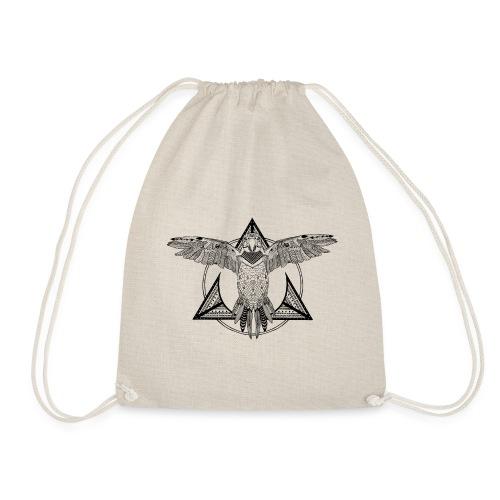 frame-parrot - Drawstring Bag
