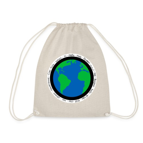 We are the world - Drawstring Bag