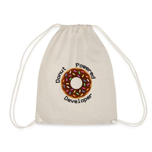 Donut Powered Developer - Mochila saco