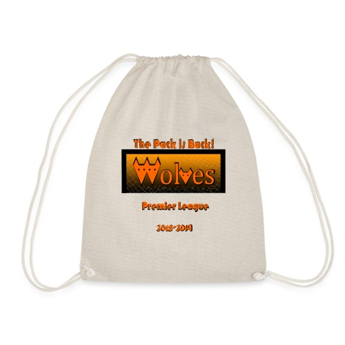 Wolves - The pack is back! - Sports Fan Edition - Drawstring Bag