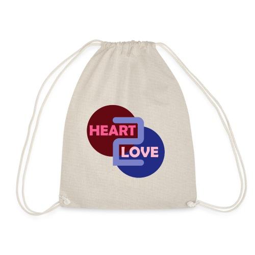 Heart 2 Love - Drawstring Bag