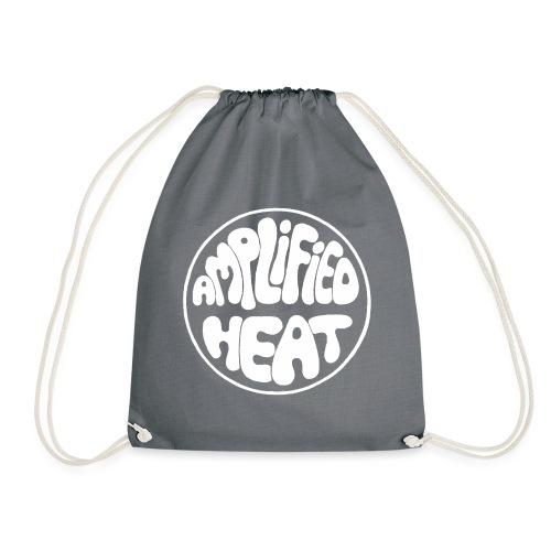 Amplogo white - Drawstring Bag