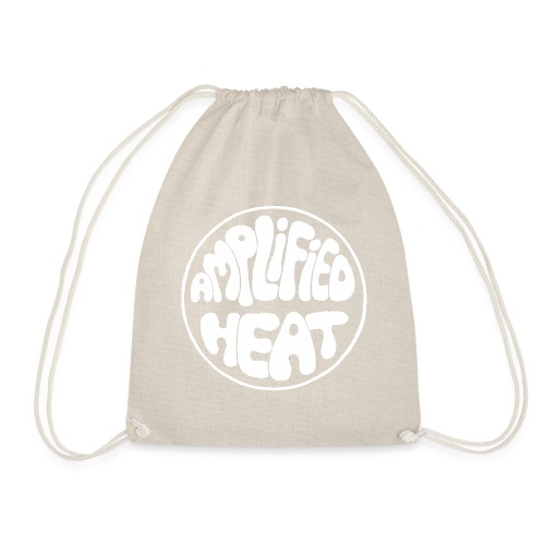 Amplogo white - Drawstring Bag