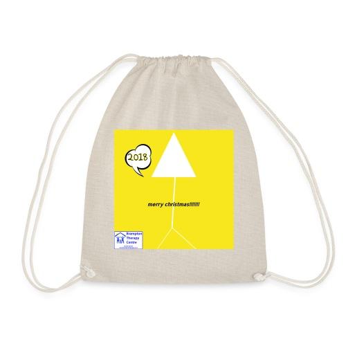 Brampton therapy centre christmas 2018 - Drawstring Bag