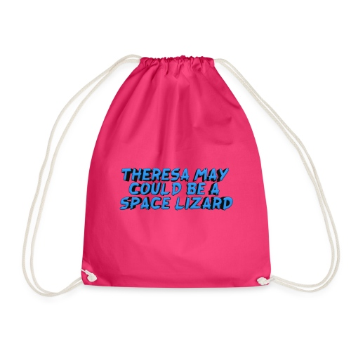 THERSEA MAY COULD BE A SPACE LIZARD - Drawstring Bag