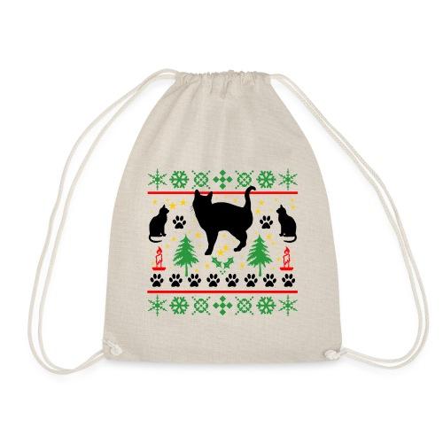 Kerst met katten - Gymtas