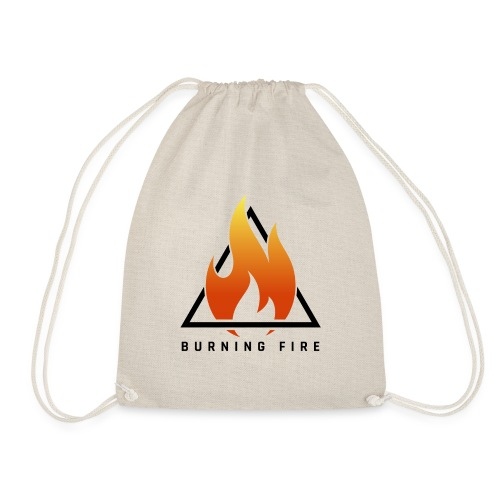 BURNING FIRE Logo - Sportstaske