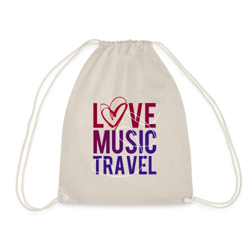 Love Music Travel - Turnbeutel