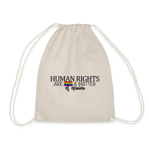 Huma rights - Mochila saco