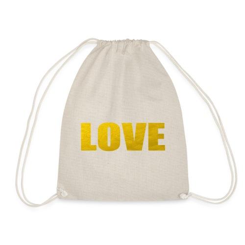 LOVE YELOW - Mochila saco