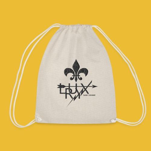 Luxry (Faded Black) - Drawstring Bag