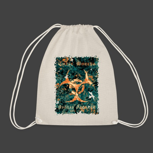 TOXIC WORLDS - 4B - Drawstring Bag