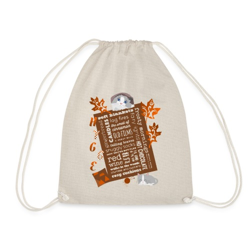 HYGGE MOMENTS - Drawstring Bag