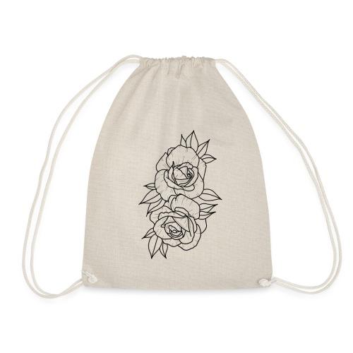 Wild roses - Drawstring Bag
