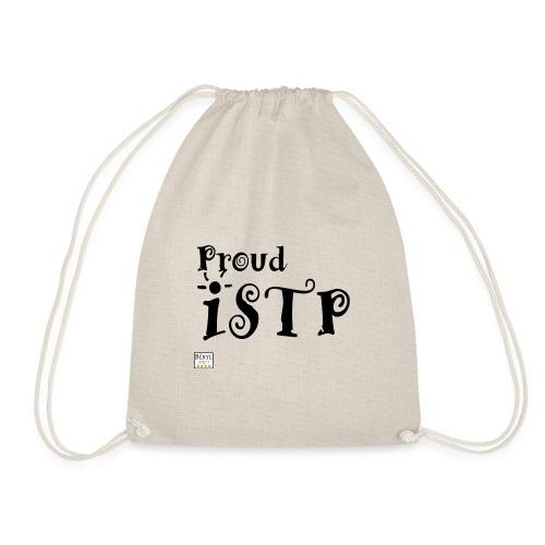 Proud ISTP (MBTI) noir - Sac de sport léger