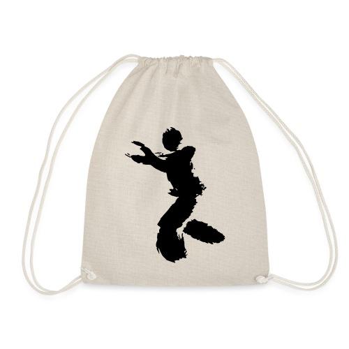 Wing Chun / Kung Fu Tusche Figur VEKTOR - Drawstring Bag
