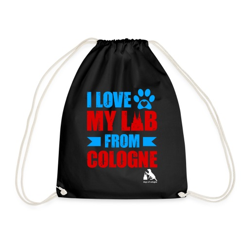 I love my LAB from COLOGNE! - Turnbeutel