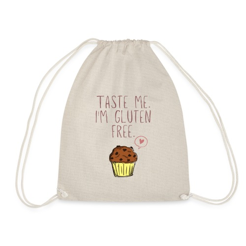 Taste me I'm gluten free - Turnbeutel