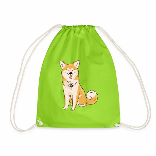 Akita Yuki Logo - Drawstring Bag