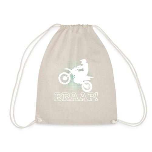 Dirtbike Braap Motocross - Drawstring Bag