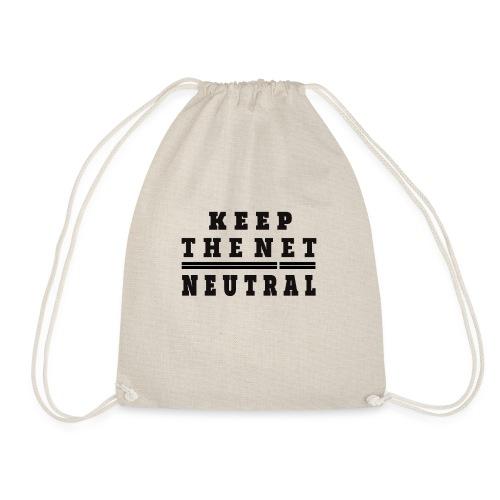 Keep The Net Neutral T-shirt - Mochila saco