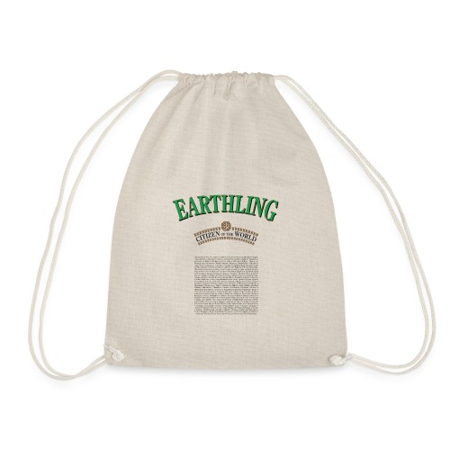 Earthling - Citizen of the World - Gymnastikpåse