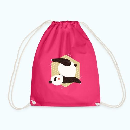 Yoga Panda - Drawstring Bag