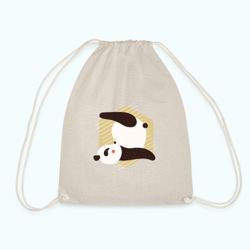 Yoga Panda - Drawstring Bag