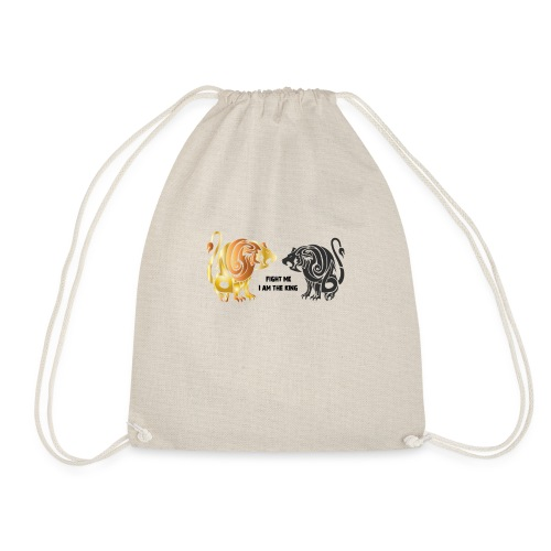 fight me #lion #king - Sac de sport léger