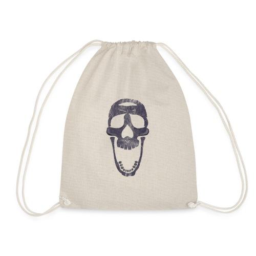 skull scary face - Mochila saco