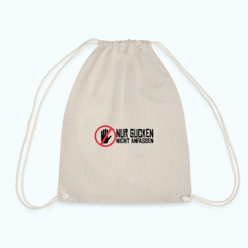 Do not touch - Drawstring Bag