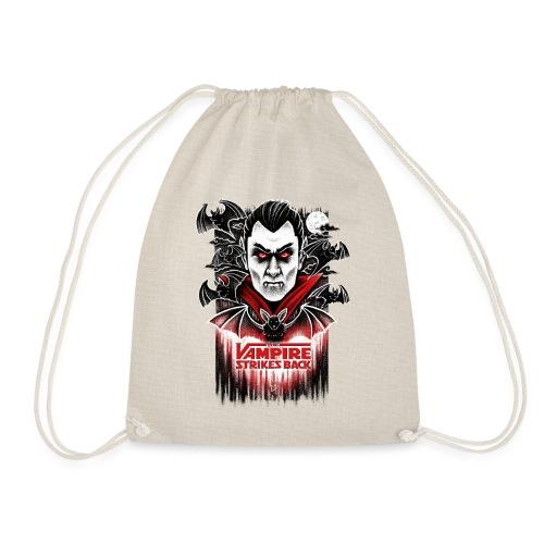 The Vampire Strikes Back - Drawstring Bag