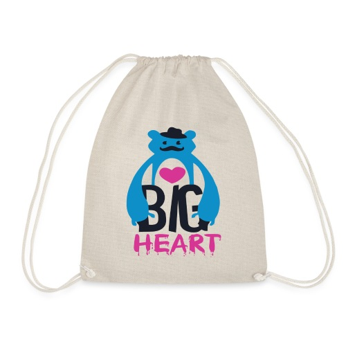 Big Heart Monster Hugs - Drawstring Bag